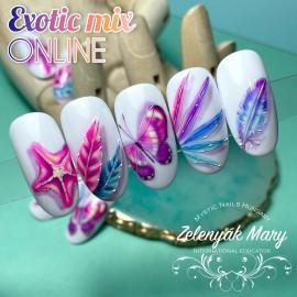 """Exotic mix"" On-line - Zelenyák Maryvel"