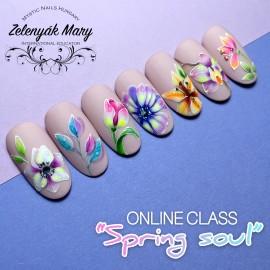 """Spring soul"" On-line - Zelenyák Maryvel"
