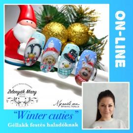 """Winter cuties"" On-line - Zelenyák Maryvel"