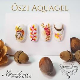 Online Képzés - Őszi Aquagel díszítések - Gyimesi Dórával-