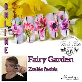 Fairy Garden - Zselés Festés Online - Bodó Zitával