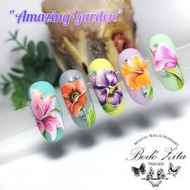 NYÍREGYHÁZA - Amazing Garden - Bodó Zitával - Április 12 - 2021